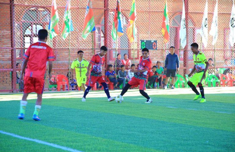 Chinland Flower Private School နှင့် Chinland Futsal ကွင်းဖွင့်ပွဲ